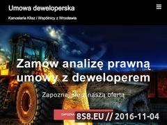 Miniaturka Umowa deweloperska (umowa-deweloperska.com)