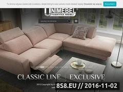 Miniaturka domeny www.unimebel.pl