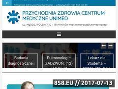 Miniaturka unimed-nzoz.pl (Lekarz rodzinny UNIMED Kraków)