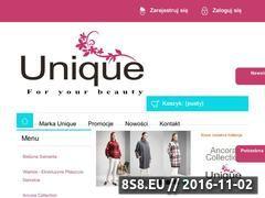Miniaturka domeny uniqueyou.pl