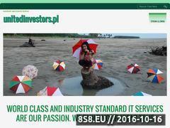Miniaturka domeny www.unitedinvestors.pl