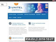 Miniaturka domeny www.unitel.krakow.pl