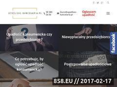 Miniaturka www.upadlosc-kancelaria.pl (Usługi z zakresu upadłości konsumenckiej)