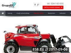Miniaturka www.upleasing.pl (Najlepsza i najszybsza oferta leasingów)