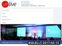 Miniaturka uplive.pl (Obsługa eventów)