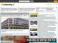 Miniaturka domeny www.urbanity.pl