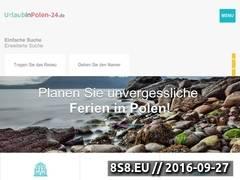 Miniaturka urlaubinpolen-24.de (Reklama polskich ośrodków turstycznych)