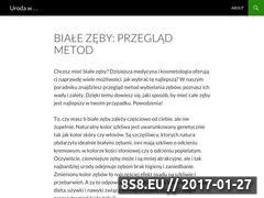 Miniaturka domeny www.urodaweb.pl