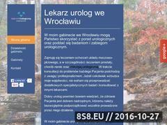Miniaturka domeny urolog-gorecki.wroclaw.pl
