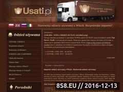 Miniaturka Hurtownia odzieży używanej i outlet z Włoch (usati.pl)