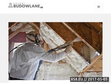 Zrzut strony Usługi budowlane-Najtaniej na Mazowszu