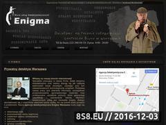 Miniaturka domeny www.uslugi-detektywistyczne.pl