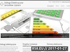 Miniaturka domeny uslugielektryczne-nisko.pl