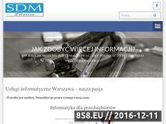 Miniaturka domeny www.uslugiinformatyczne.net.pl