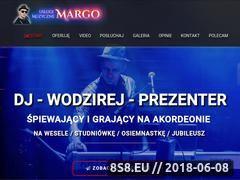 Miniaturka uslugimuzyczne.waw.pl (Śpiewający dj wodzirej z akordeonem na wesele)