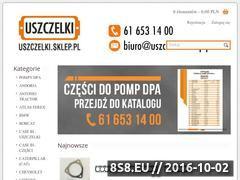 Miniaturka Uszczelki silnikowe i części do maszyn, pojazdów (uszczelki.sklep.pl)