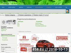 Miniaturka domeny www.utracone.pl