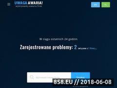 Miniaturka uwaga-awaria.pl (Liczy awarie firm i portali)