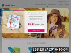 Miniaturka domeny www.uwolnijkolory.pl