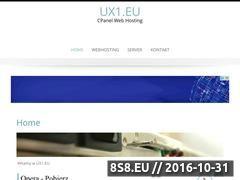 Miniaturka ux1.eu (Hosting za darmo)