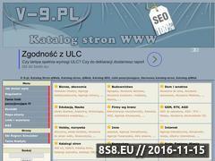 Miniaturka v-9.pl (V-9.pl - Darmowy katalog stron qlWeb)