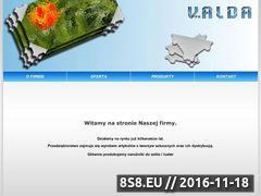 Miniaturka domeny www.valda.pl