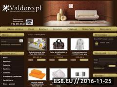Miniaturka domeny www.valdoro.pl