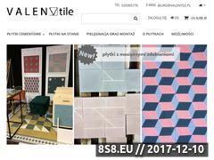 Miniaturka valentile.pl (Płytki cementowe)
