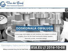 Miniaturka domeny www.vandergraaf.pl