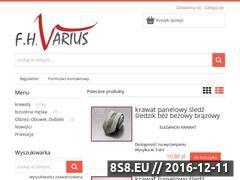 Miniaturka domeny varius.sklep.pl