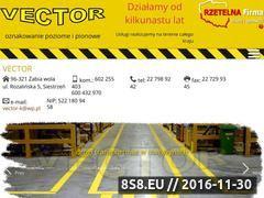 Miniaturka domeny www.vector-znakowanie.com.pl