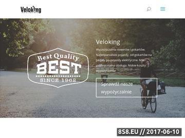 Zrzut strony Wypożyczalnia rowerów
