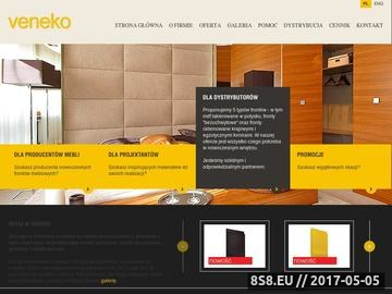 Zrzut strony Fronty na wymiar, produkcja - sprzedaż