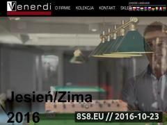 Miniaturka domeny www.venerdi.pl
