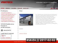 Miniaturka domeny www.ventech.pl