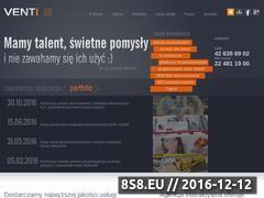 Miniaturka domeny www.venti.com.pl