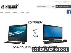 Miniaturka domeny www.versussklep.pl
