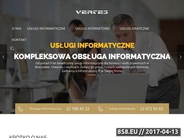 Zrzut strony Strony internetowe Warszawa