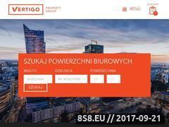 Miniaturka vertigoproperty.pl (Pomieszczenia biurowe w Warszawie dla firm)