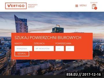 Zrzut strony Wynajem biur i powierzchni biurowych na terenie Warszawy
