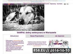 Miniaturka domeny www.vet4pet.pl