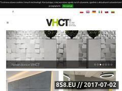Miniaturka www.vhct.pl (Beton architektoniczny)