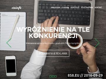 Zrzut strony Viainfo Kielce Strony Internetowe Pozycjonowanie