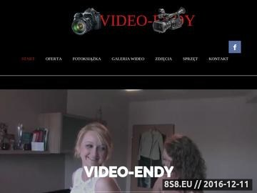 Zrzut strony VIDEO-ENDY Dąbrowa Górnicza - wideofilmowanie oraz fotografia uroczystości