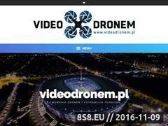 Miniaturka videodronem.pl (Filmowanie dronem Warszawa)
