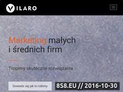 Miniaturka Tworzenie stron internetowych (vilaro.pl)