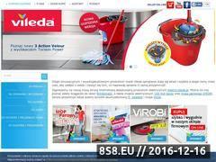 Miniaturka domeny www.vileda.pl