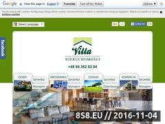 Miniaturka domeny www.villa-nieruchomosci.pl