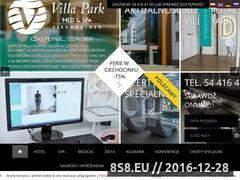 Miniaturka domeny www.villapark.pl