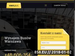 Miniaturka vinylbus.pl (Wypożyczalnia busów)